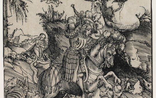 San Jorge y el dragón - Cranach
