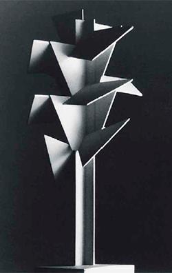Jan & Joël Martel. Maqueta del Árbol cubista para la Exposición Internacional de París, 1925.  Colección F. Langer Martel