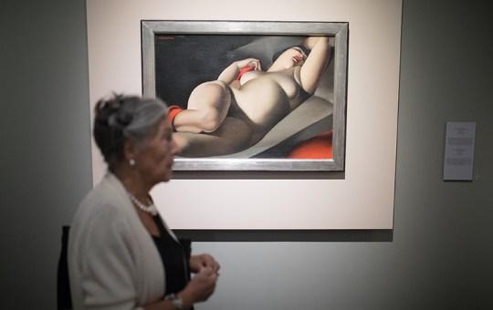 Exposición de Tamara de Lempicka