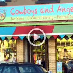 Cowboys And Angels Toy Store In Vancouver