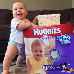 Three Things I Like About Huggies Little Movers Plus Diapers
