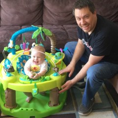 ExerSaucer Life In The Amazon Triple Fun Saucer Review & Giveaway