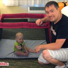 KidCo TravelPod Portable Travel Play Yard Review & Giveaway