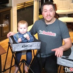 KidCo DinePod Portable High Chair Review + Giveaway