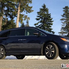 2016 Honda Odyssey Touring Review & Top 2 Features