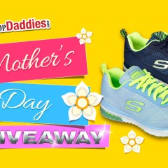 Mother's Day Giveaway! Two Pairs of Skechers Shoes!