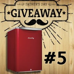 Father's Day Giveaway #5: Danby Contemporary Classic Mini Fridge