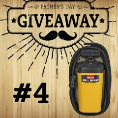 Father's Day Giveaway #4: Shop-Vac Wall Mount Vac