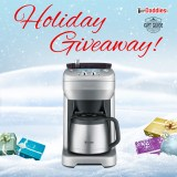 Holiday Giveaway #1: Breville Grind Control Coffee Maker!