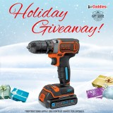 Holiday Giveaway #4: Black & Decker Smartech Drill / Driver