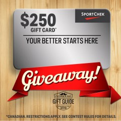Father's Day Giveaway 2018 | $250 Sport Chek Gift Card!