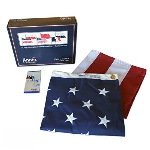 American-Flag-3x5-ft-Tough-Tex-the-Strongest-Longest-Lasting-Flag-by-Annin-Flagmakers-100-Made-in-USA-with-Sewn-Stripes-Embroidered-Stars-and-Brass-Grommets-Model-2710-0