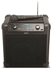 Ion-Audio-iPA77-Tailgater-Portable-Bluetooth-Speaker-PA-System-with-Microphone-AMFM-Radio-and-USB-Charge-Port-Current-Model-0