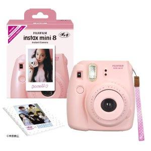 1-X-Fuji-Instax-Mini-8-N-Pink-Original-Strap-Set-Fujifilm-Instax-Mini-8N-Instant-Camera-0