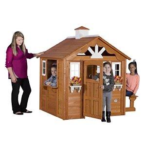 Backyard-Discovery-Summer-Cottage-All-Cedar-Wood-Playhouse-0