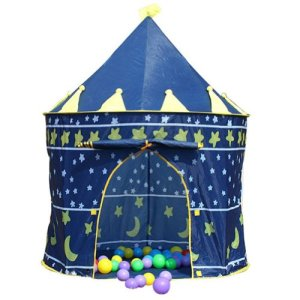 Children-IndoorOutdoor-Pop-Up-Castle-Play-Tent-Wizard-0