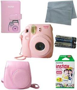 Fujifilm-Instax-Mini-8-Camera-Pink-5-Pack-Kit-0