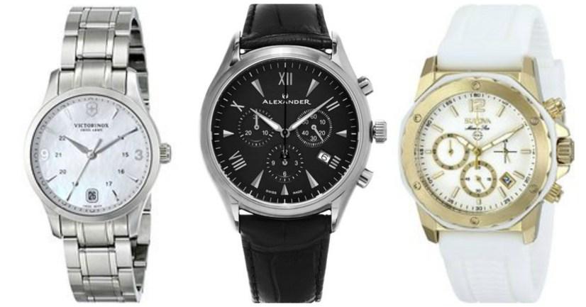 Bulova & Victorinox Swiss Army Watches