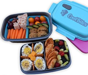 CoolBites-Premium-Bento-Lunch-Box-BPA-Free-Leakproof-Multi-Compartment-Convertible-Lunch-Container-with-Built-in-Freezable-Gel-Ice-Pack-0