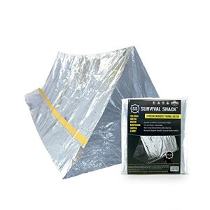 Survival-Shack-Emergency-Survival-Shelter-Tent-2-Person-Mylar-Thermal-Shelter-8-X-5-All-Weather-Tube-Tent-Reflective-Material-Conserves-Heat-Lightweight-Waterproof-Best-Survival-Gear-0