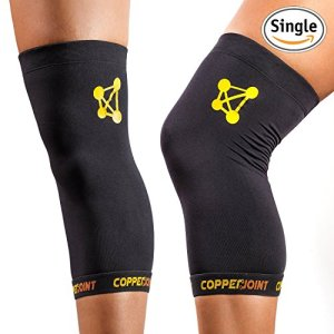 CopperJoint-Copper-Knee-Brace-1-Compression-Fit-Support-GUARANTEED-Recovery-Sleeve-Wear-Anywhere-Large-Single-0