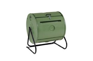 Mantis-Easy-Spin-ComposTumbler-CT09001-Sized-for-Small-Gardens-Sturdy-and-Durable--Turns-Easily--Holds-37-Gallons--Low-Cost-Per-Gallon-0