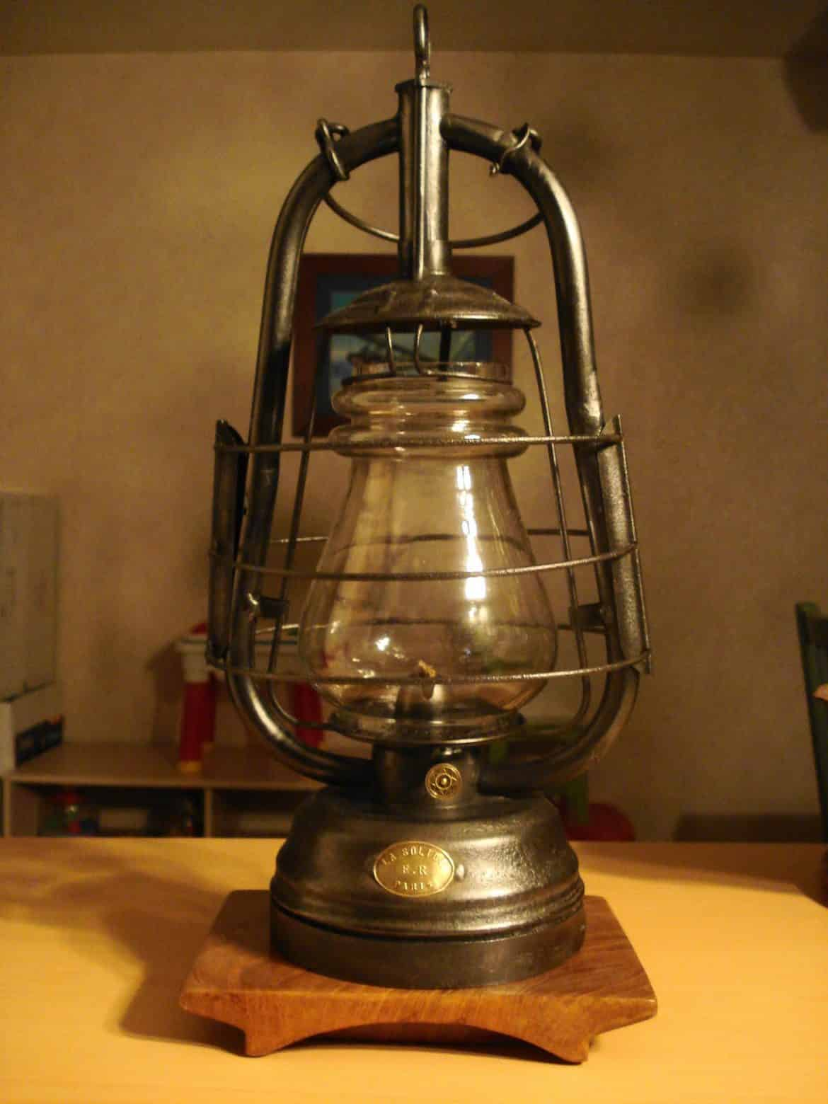 lampe ancienne les differents types