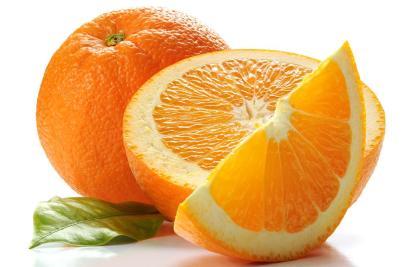 Pomaranč Ovocie s najväčším obsahom vody