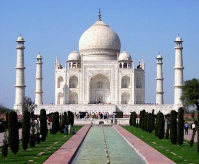 Taj Mahal Divy staroveku