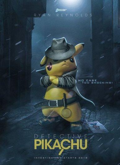 Pokemon detektív Pikachu