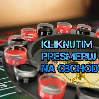 Alkoholová ruleta veľká 16 panakov