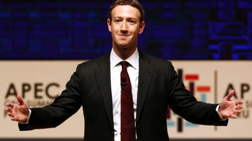 Mark Zuckerberg usa president