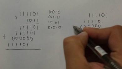 Aritmetické operácie v dvojkovej sústave – sčítanie, odčítanie ,násobenie, delenie