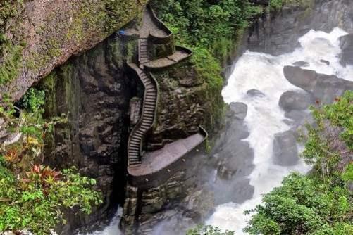 10. Schodisko Canyon Najznámejšie  schody 10 schodísk z celého sveta