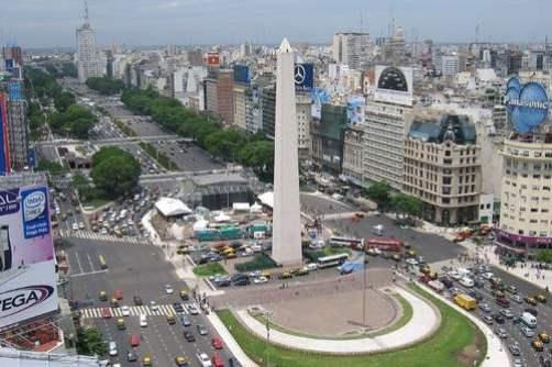 4. Obelisco de Buenos Aires - Argentína