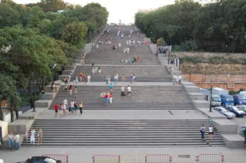 8. Potemkinove schody Najznámejšie  schody 10 schodísk z celého sveta