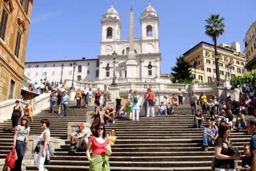 9. Španielske schody Najznámejšie  schody 10 schodísk z celého sveta