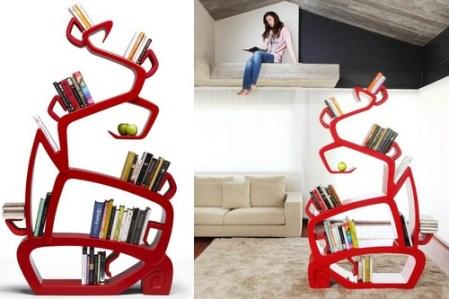 9. Strom múdrosti Dizajn domácej knižnice