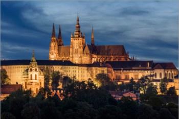 2. Pražský hrad Najkrajší hrad v Česku