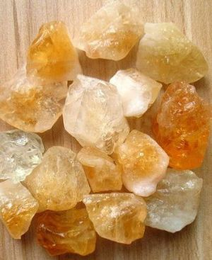 Citrín Liečivé kamene