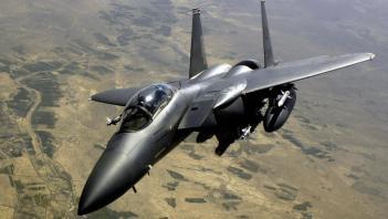 McDonnell Douglas F-15 Eagle 2500 km/h Najrýchlejšia stíhačka