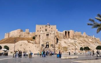 Citadela v Aleppe