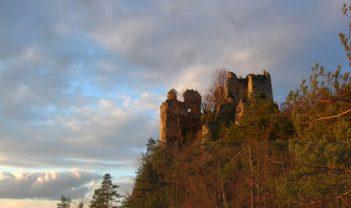 Hričovsky hrad  Zrúcaniny hradov na Slovensku
