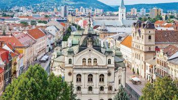 Košice Najväčšie mestá na Slovensku