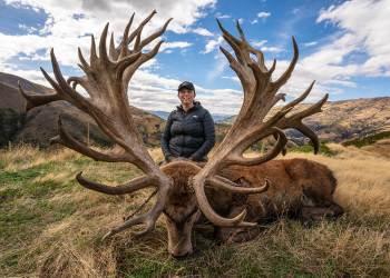 obrovsky jelen z nveho zeland Najväčšie Jelene na svete