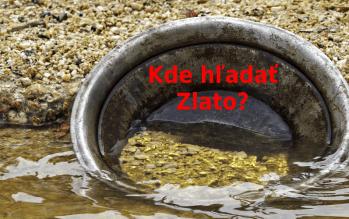 hľadanie zlata na slovensku