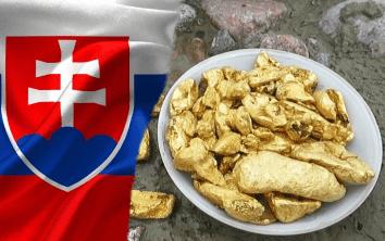 kde hľadať zlato na Slovensku