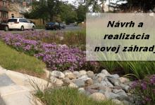 navrh a realizacia novej zahrady