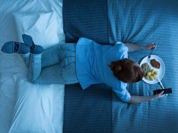 Neskoré nočné občerstvenie zly spanok