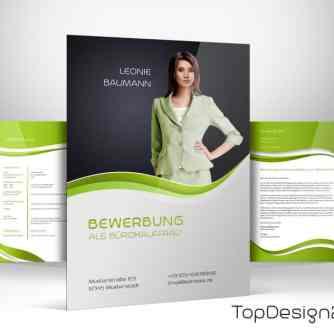 DesignBewerbung Deckblatt - TopDesign24